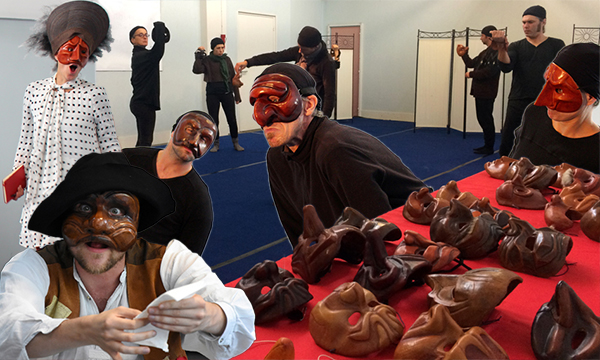 Atelier forian : stage commedia dell'arte