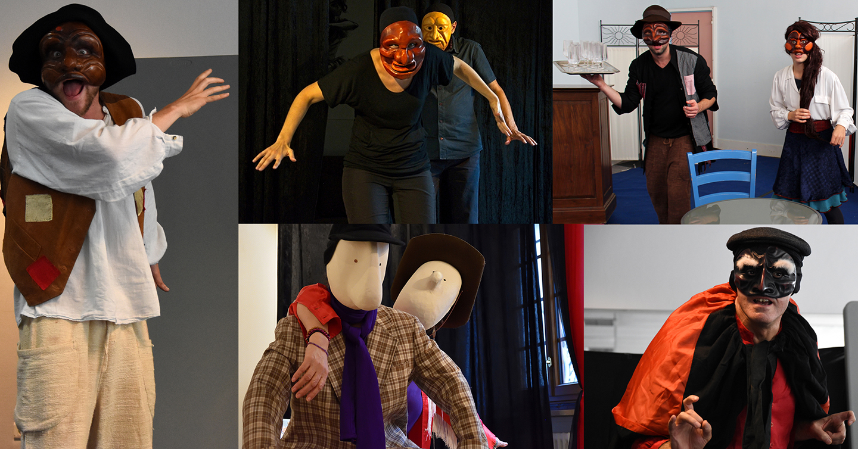 Atelier théâtre : masque, mouvement @ Fil Rouge | Paris | Île-de-France | France