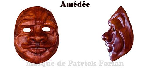 Amédée, masque expressif