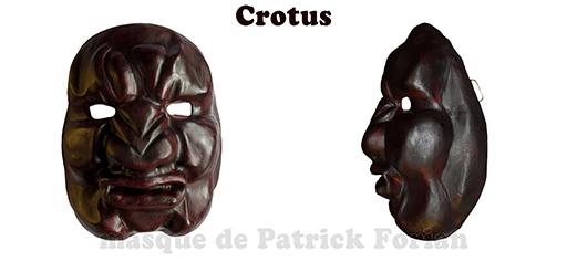 Crotus, masque expressif