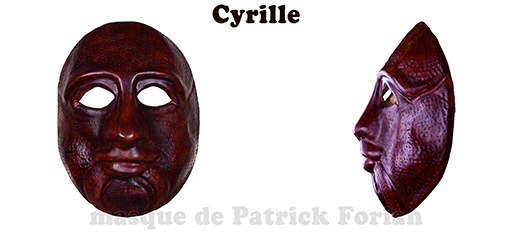 Cyrille, expressive full mask