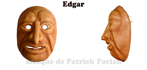Edgar, expressive full mask