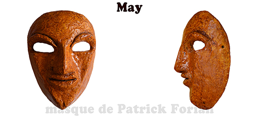 May, masque expressif