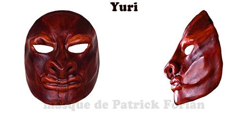 Yuri, masque expressif
