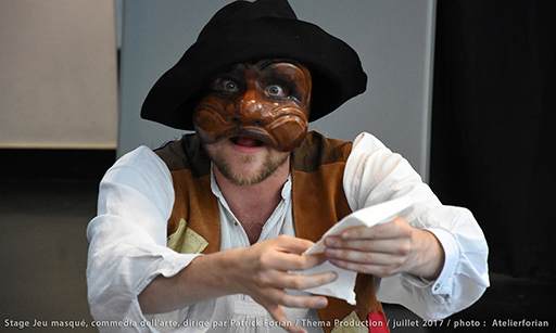 Commedia dell'arte workshop - Harlequin